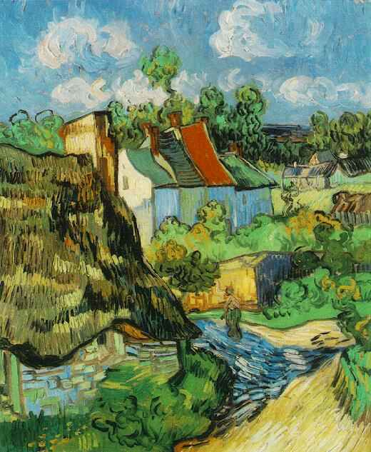1890 Houses in Auvers