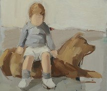 child,dog,contemporary,art,dog,figurative,gideon,rubin,painting-7ea5c56b024053faf4a2fb7ad3b4e5e2_m