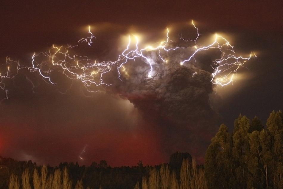 Έκρηξη του ηφαιστείου Puyehue στην Χιλή.