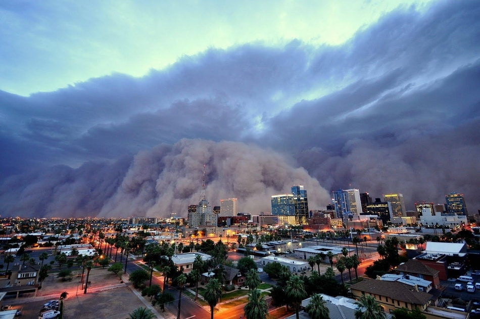 Τεράστια θύελλα σκόνης στην Αριζόνα, τον Ιούλιο.