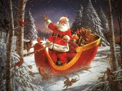 Ο απίστευτος φόρτος εργασίας του Άγιου Βασίλη τα Χριστούγεννα.