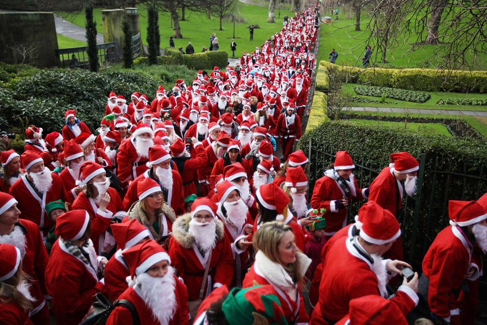 Περίπου χίλια άτομα συμμετείχαν σε ετήσια φιλανθρωπική εκδήλωση συλλογής χρημάτων στο Εδιμβούργο, Σκωτία