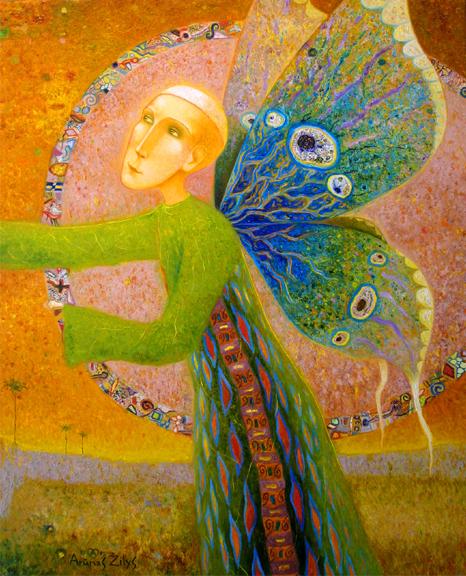 Painter Arunas Zilys - Guardian Angel