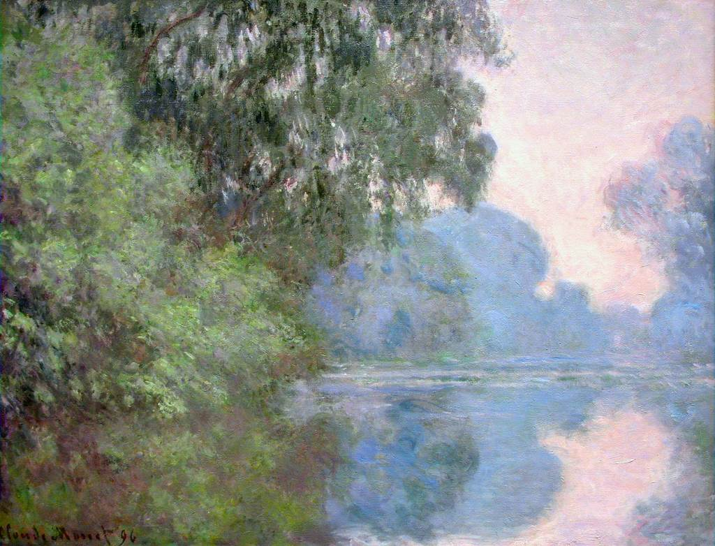 Morning on the Seine, near Giverny  1897