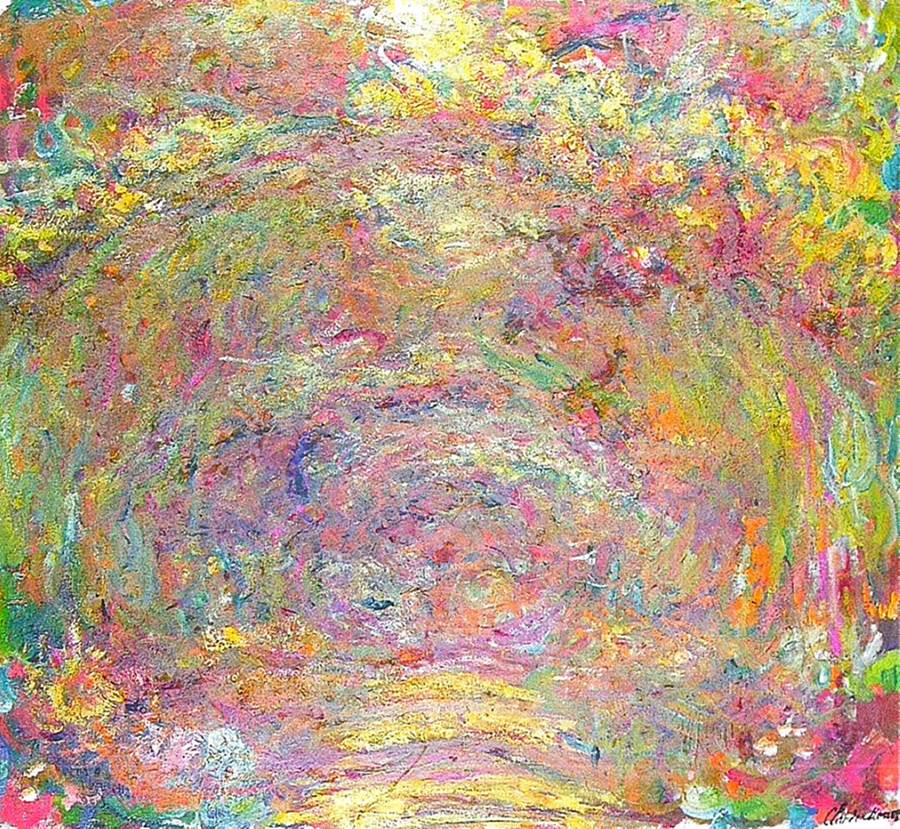 Path under the Rose Trellises, 1918-1924
