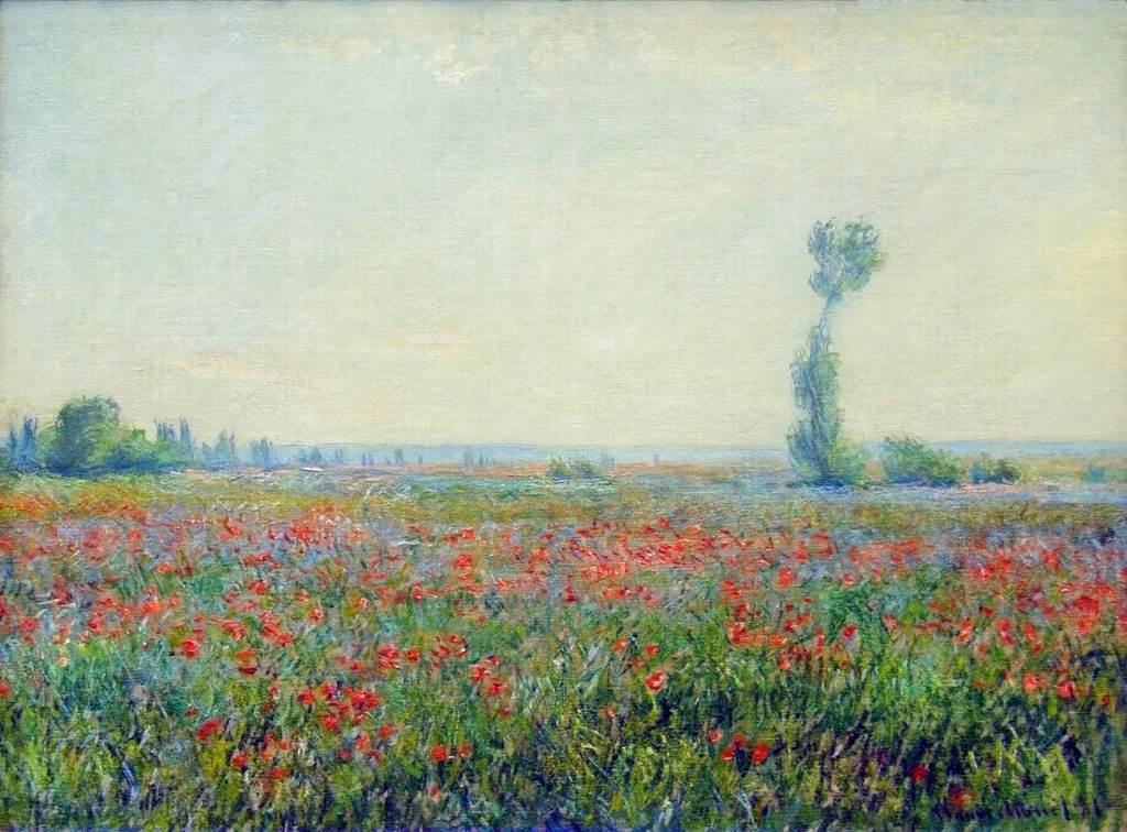 Monet - Poppy Field 1881