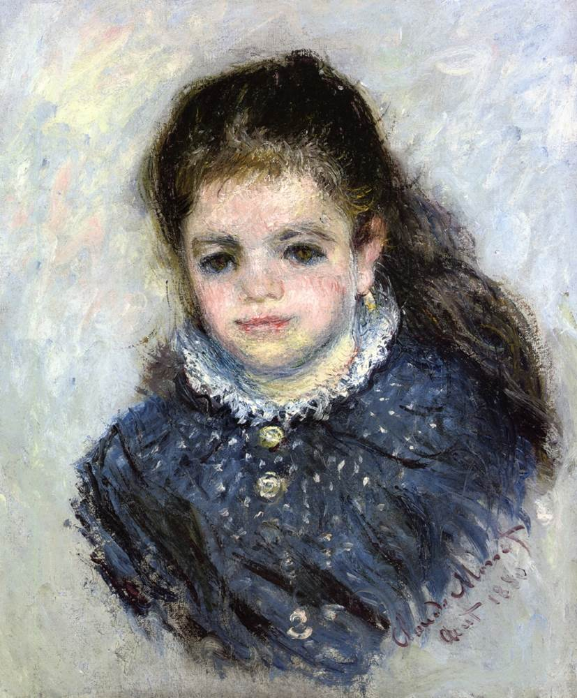 Portrait of Jeanne Serveau, 1880