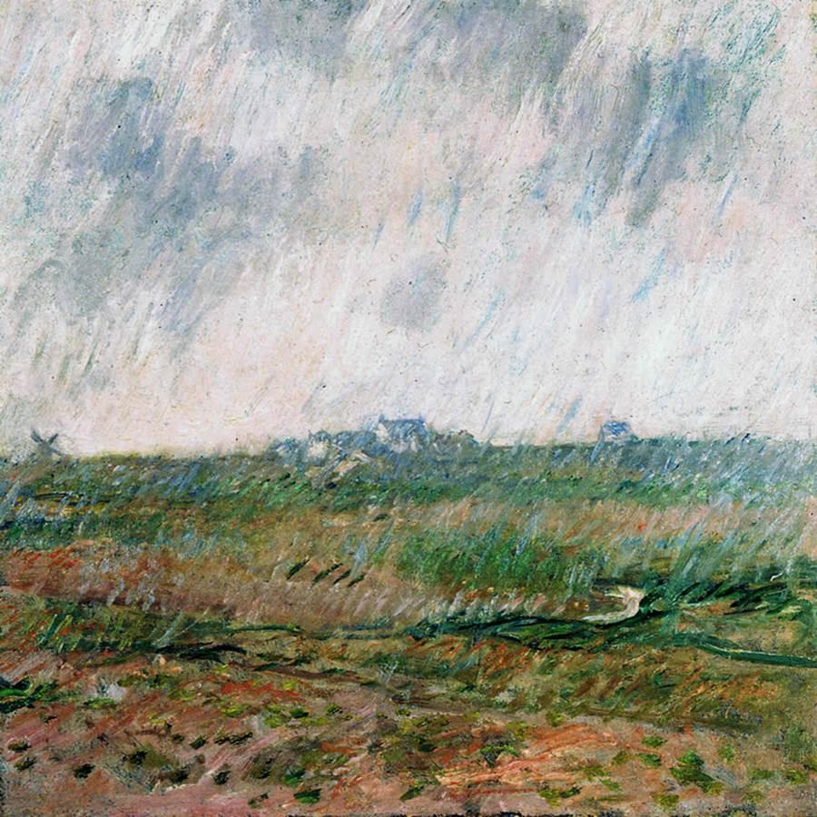 Rain in Belle-Ile, 1886 - Claude Monet