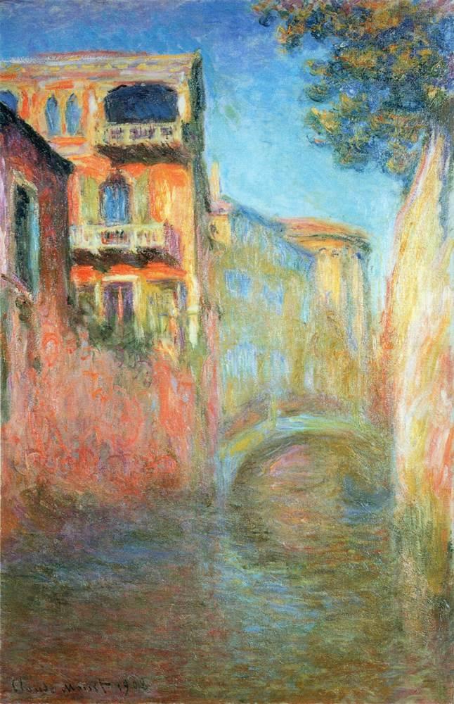 Rio della Salute 03, 1908 - Claude Monet