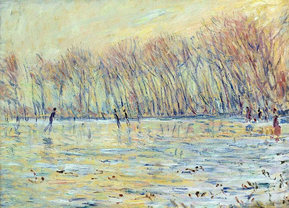 Scaters in Giverny, 1899 - Claude Monet