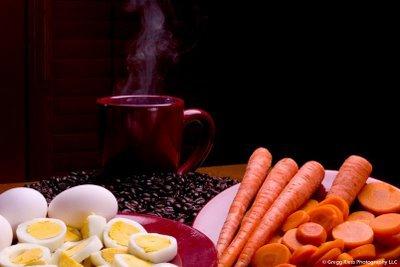 Το Καρότο, το Αυγό και το Τσάι