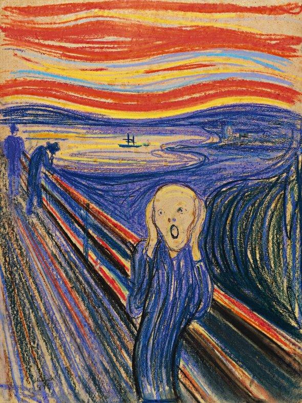 Κραυγή - Edward Munch