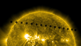 Η διέλευση της Αφροδίτης μπροστά από τον ήλιο