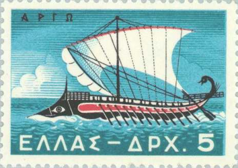 Ancient-Greek-ship-stamp