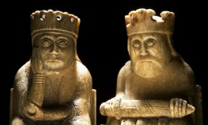 Lewis chess queen and king by Murdo MacLeod The Guardian 2099 10 01