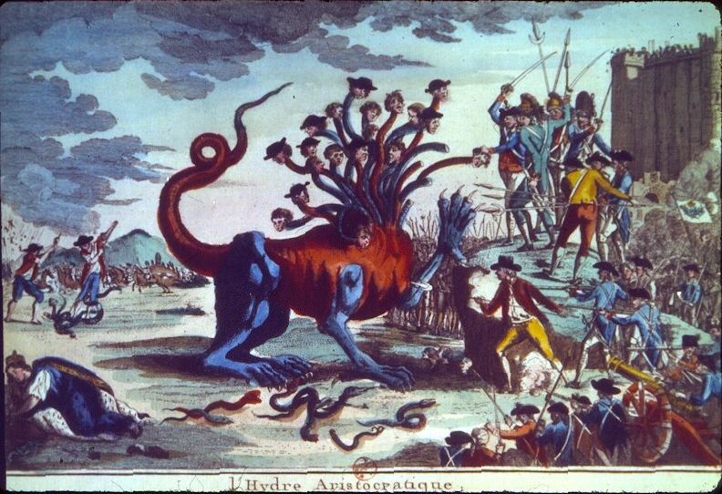 The Aristocratic Hydra, c. 1789