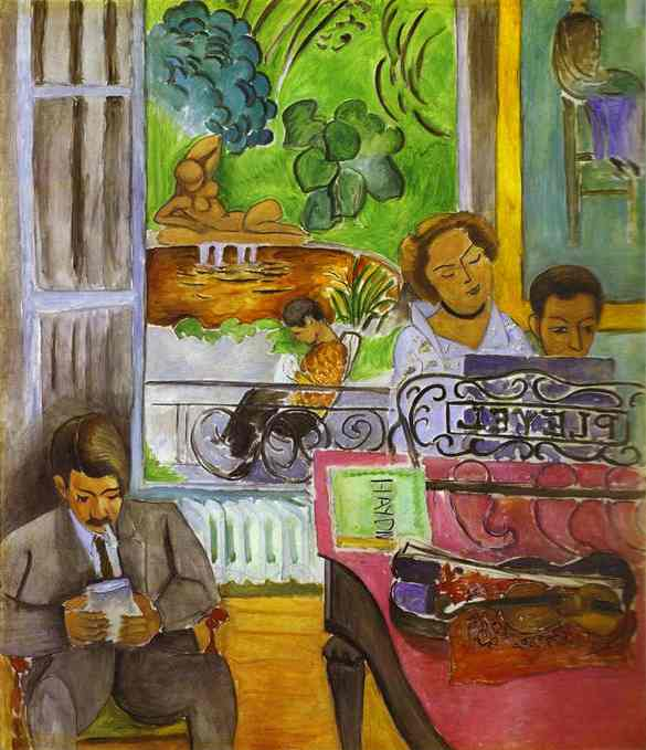 Matisse. The Music Lesson