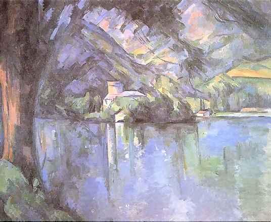 cezanne-Lake at Annecy