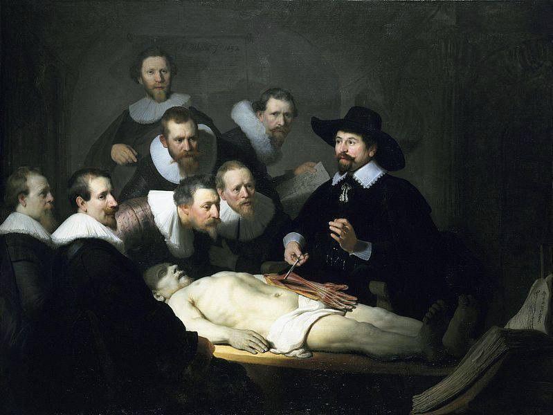 Το Μάθημα ανατομίας του Δρ. Τουλπ