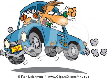 442184-Royalty-Free-RF-Clip-Art-Illustration-Of-A-Cartoon-Male-Driver-With-Road-Rage