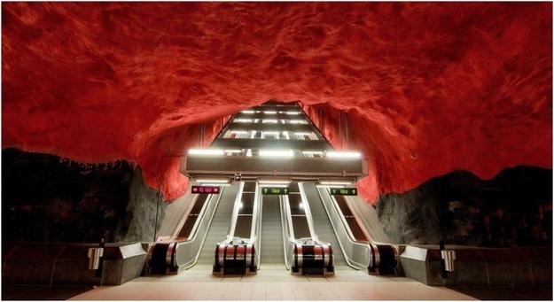 Μετρό - Στοκχόλμη - Σουηδία