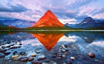 ΟροςGrinnell – Εθνικό Πάρκο Glacier , Montana