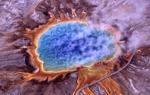 Grand Prismatic Spring – εθνικό πάρκο Yellowstone , Ουαιόμινγκ