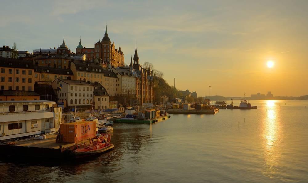 Πανέμορφο ηλιοβασίλεμα στη Στοκχόλμη