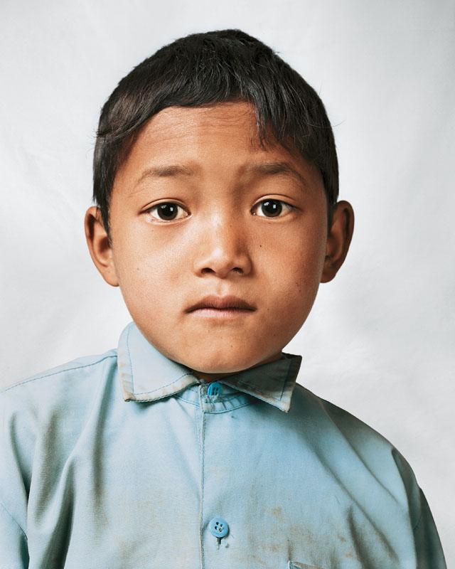 Bikram, 9, Melamchi, Νεπάλ