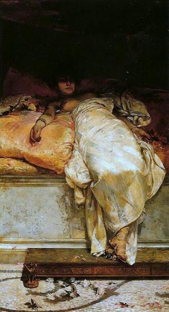 Henrique Bernardelli (1858-1936)-'Messalina'