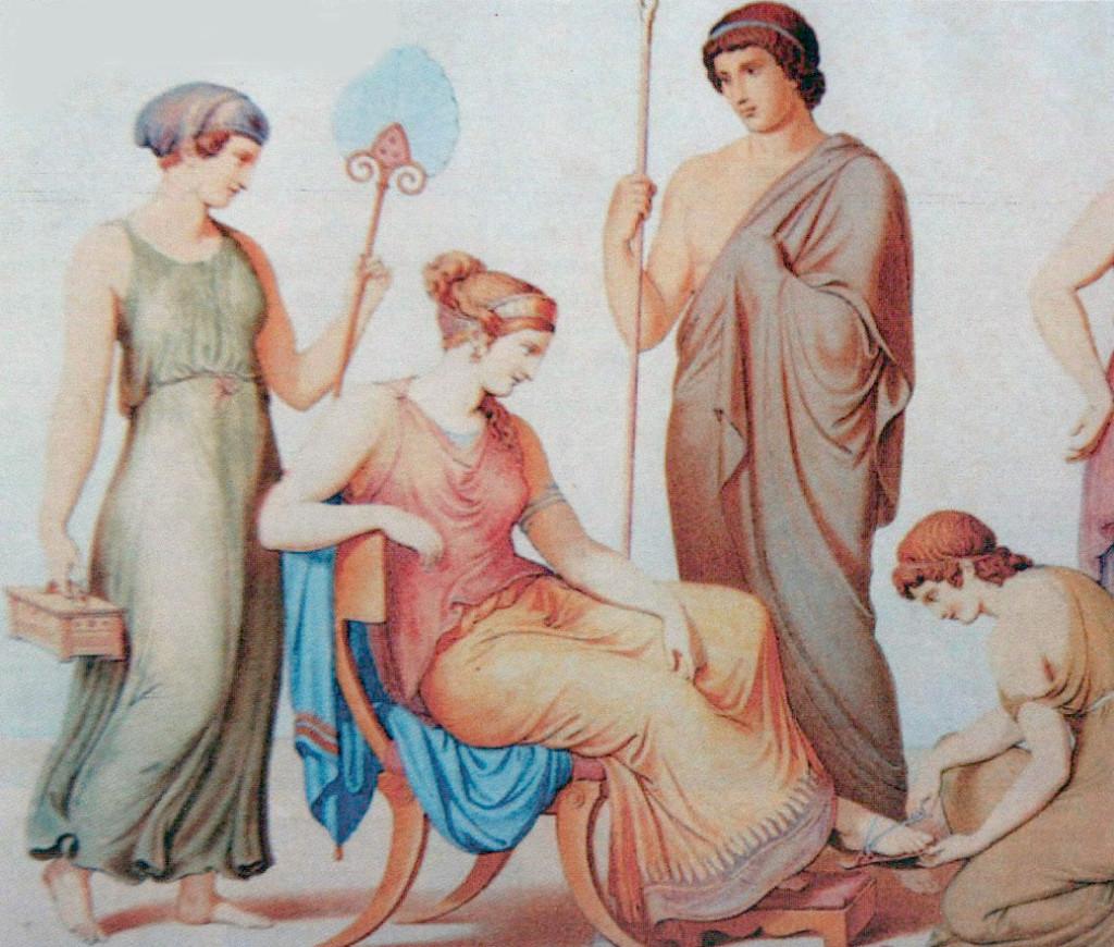 η ωραία Ελένη - πίνακας των Φρίντριχ και Γιοχάνες Ρϊπενχάουζεν