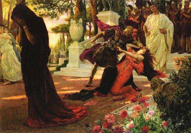George-Antoine Rochegrosse (1859-1938)-ο θάνατος της Μεσσαλίνα
