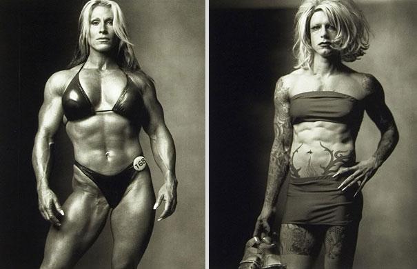 Γυναίκα Body Builder / Drag Queen