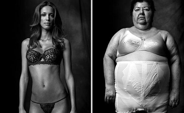 Μοντέλο Εσώρουχα / Γυναίκα στο περίζωμα