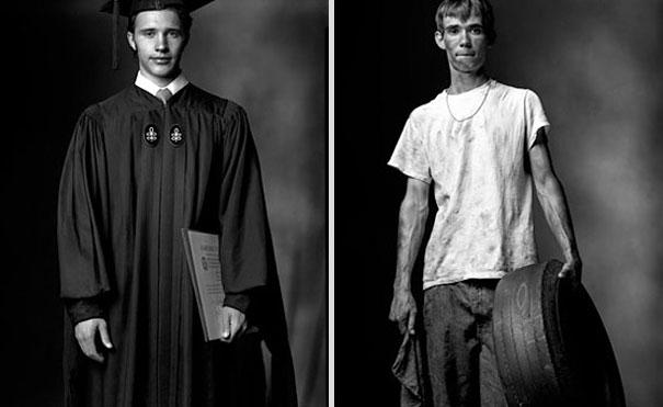 Πτυχιούχος κολλεγίου / High πρόωρης εγκατάλειψης του σχολείου