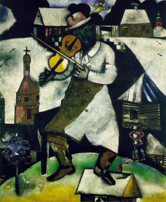 Ο βιολιστής - Μαρκ Σαγκάλ