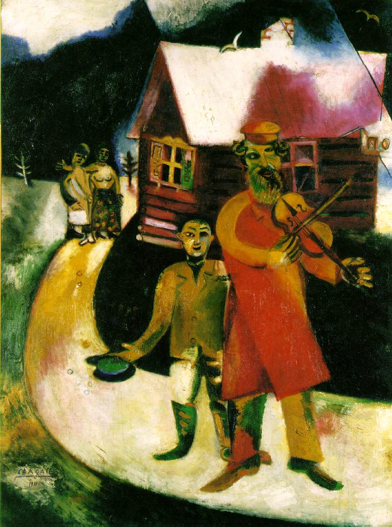 O βιολιστής - Μαρκ Σαγκάλ
