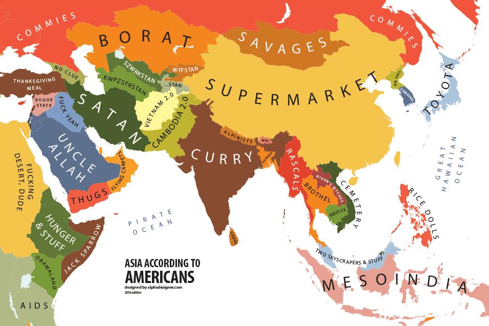 asia-according-to-usa