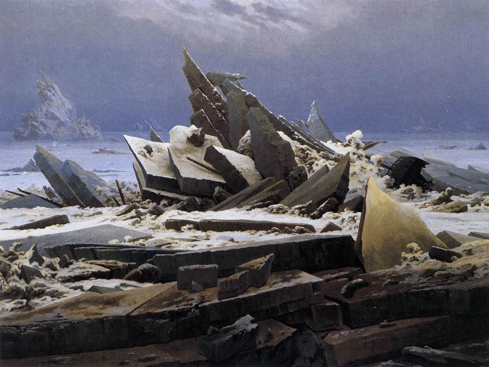 FRIEDRICH-Caspar-David-The-Sea-Of-Ice