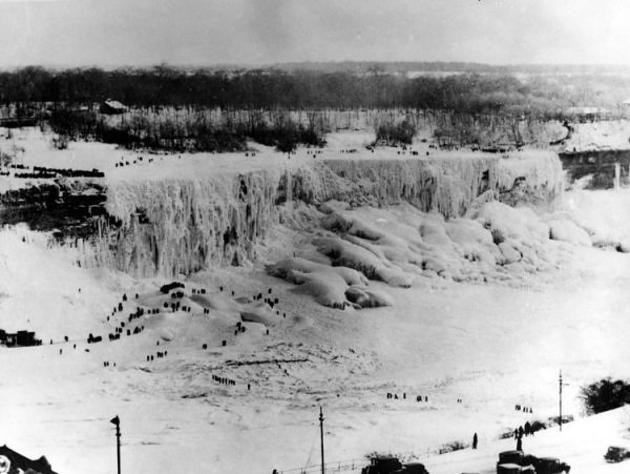ο Νιαγάρας παγωμένος 1911
