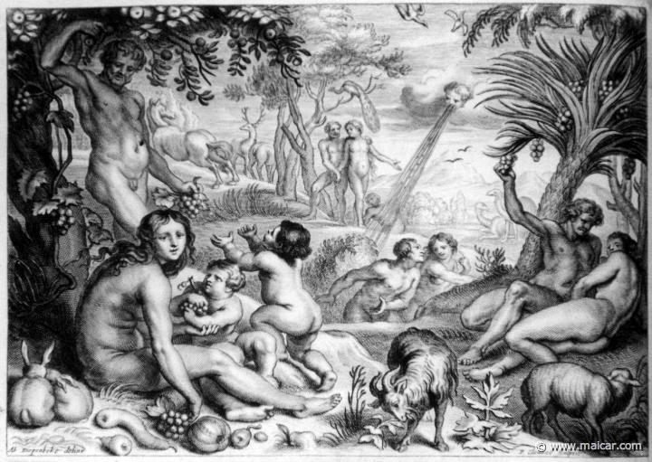 The Golden Age. Les METAMORPHOSES D'OVIDE EN LATIN ET FRANÇOIS, DIVISÉES EN XV LIVRES. TRADUCTION DE Mr. PIERRE DU-RYER PARISIEN, DE L'ACADEMIE FRANÇOISE. MDCLXXVII.