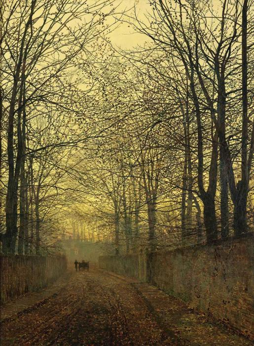 October Gold - John Atkinson Grimshaw 1889