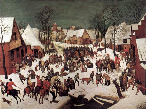 Αν ο πίνακας έχει πολλές μικρές φιγούρες αλλά κατά τα άλλα όλα φαίνονται φυσιολογικά, τότε ο πίνακας είναι του Bruegel.