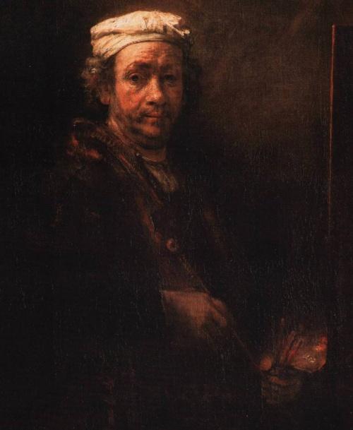 Αν όλοι μοιάζουν με χίππηδες που φωτίζονται αμυδρά στο πρόσωπο, τότε ζωγράφος είναι ο Rembrandt.