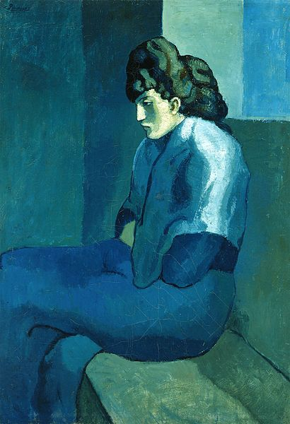 Οι μπλε πίνακες του Πικάσο