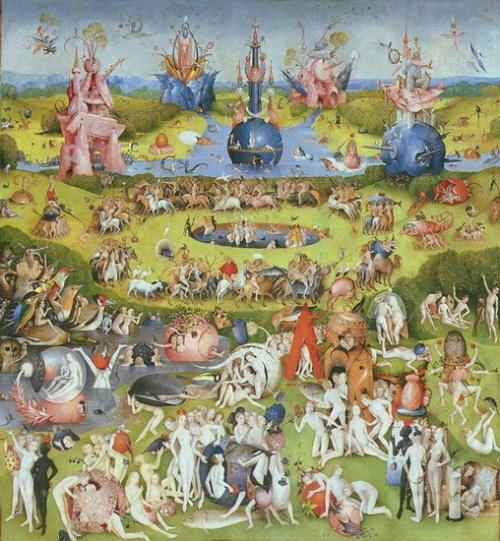Αν ο πίνακας έχει πολλές μικρές φιγούρες αλλά ταυτόχρονα έχει και εκατομμύρια τρελές εικόνες, τότε βλέπετε πίνακα του Bosch.