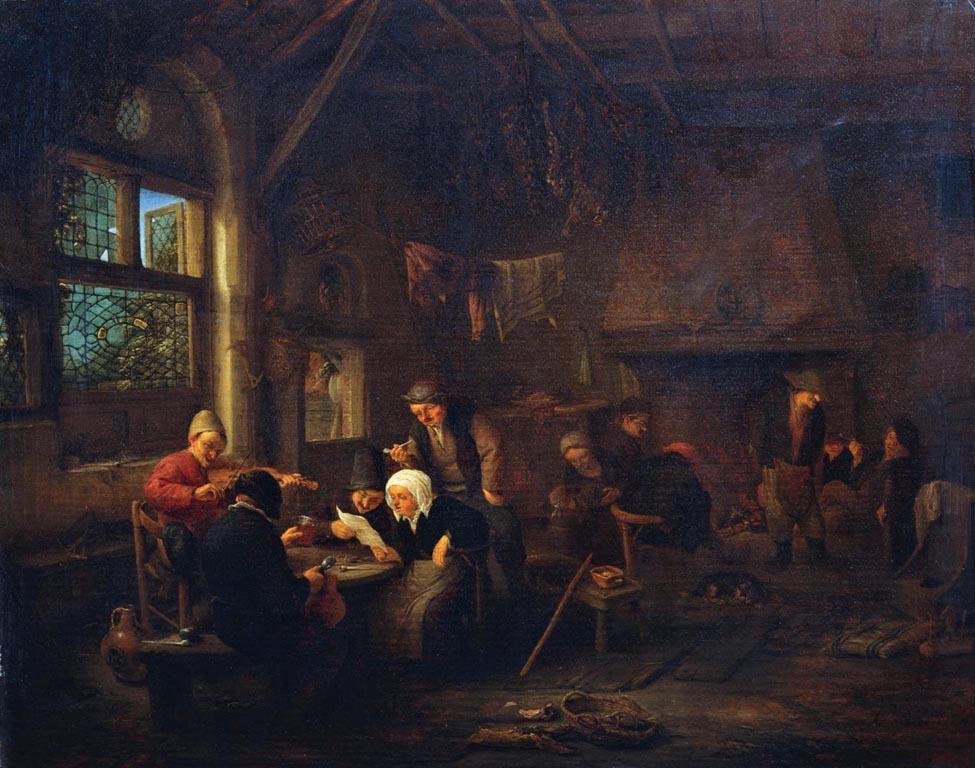 Μια βραδιά σε μια ταβέρνα - Adriaen van Ostade - 1655