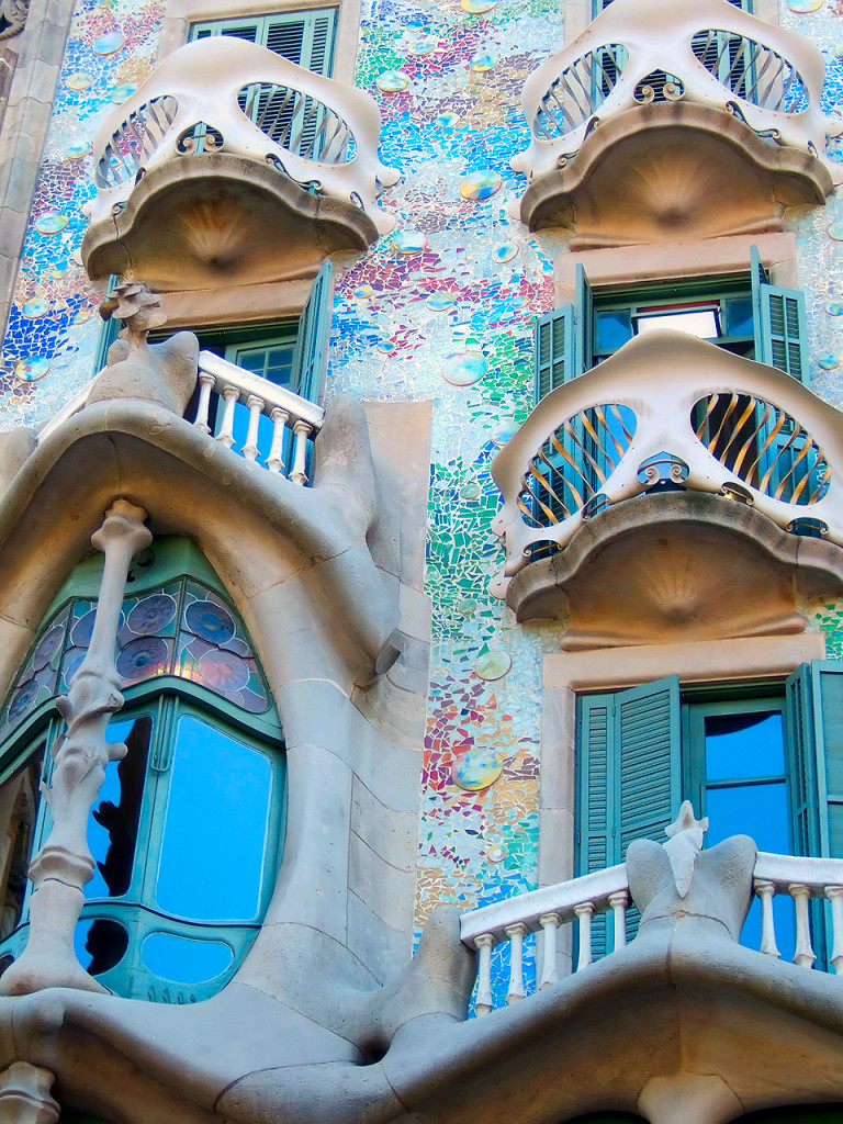 Casa Batlló - πρόσοψη