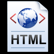 html page