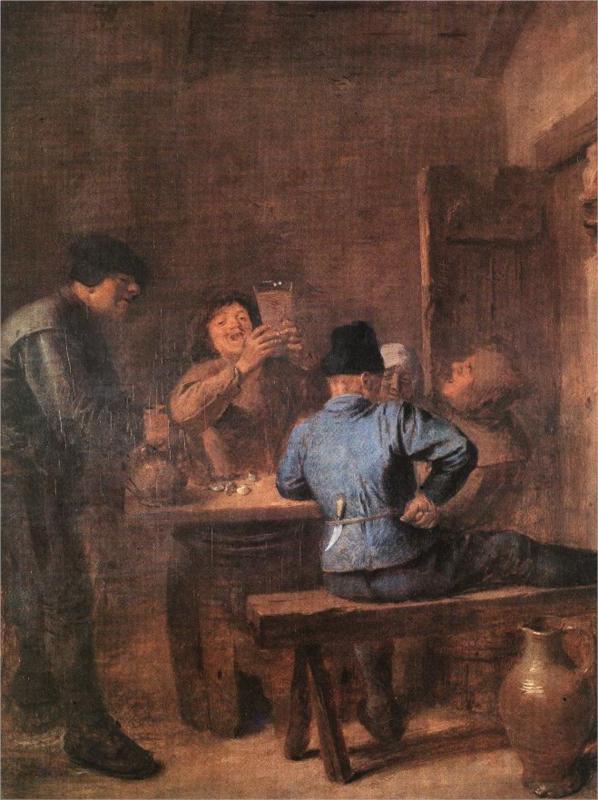 Στην ταβέρνα- Adriaen Brouwer